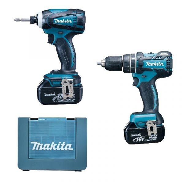 已停售-Makita牧田 DHP480 + DTD146 套裝(鋰18V) DLX2003M - 三寶五金機械有限公司