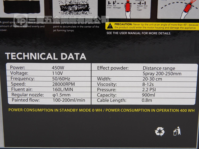 LUXI ELECTRIC SPRAYER LL-27 電噴槍 - 三寶五金機械有限公司