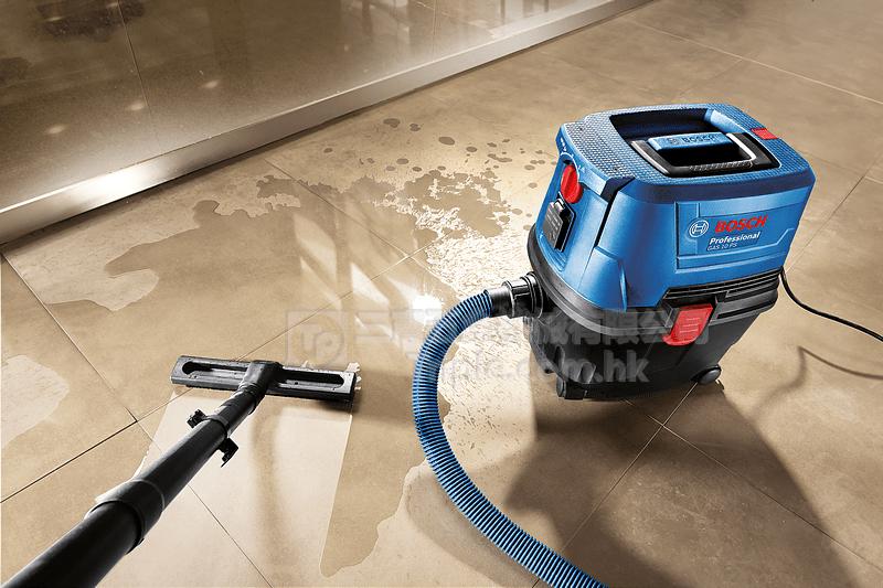 Bosch博世 GAS 15 PS 吸水吸塵兩用吸塵機 GAS15PS(WET/DRY SUITABLE) (附自動跟隨工具開關功能) - 三寶五金機械有限公司
