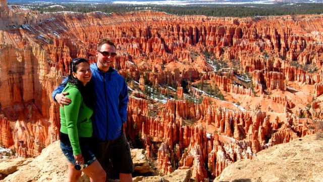 Young couples can enjoy the Red Rock Canyon