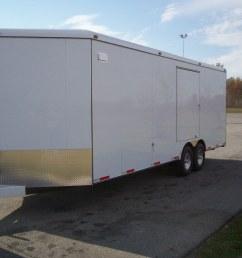 enclosed car trailers [ 1664 x 1248 Pixel ]