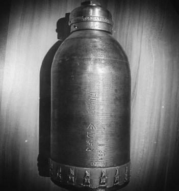 A Boer War artillery shell.