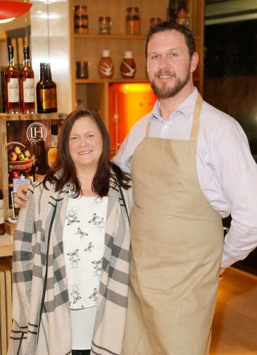 no fee if The River Lee mentioned in caption The River Lee Unveils their Local Taste Toddies on the Terrace Menu Elke O'Mahony and Rubert Atkinson at The River Lee's Local Taste Toddies on the Terrace event -photo Kieran Harnett The River Lee Hotel showcase their special Local Taste Toddies on the Terrace menu to be enjoyed during the Christmas and Winter season, which brings together the best local artisan product offerings across food and drink. Visit The River Lee to enjoy Toddies on the Terrace this winter season. For further information, please contact Donna Parsons, Edelman: Email: Donna.Parsons@edelman.com Phone: 01 678 9333| 087 650 1468