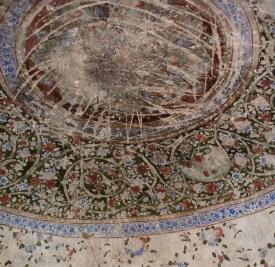 Painting in the Hammam - Citadel of Herat - 2006