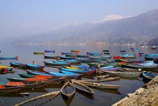 Boats on Fewa Tal