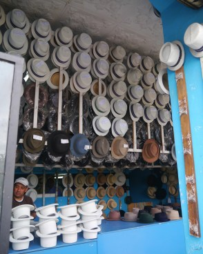 Panama Hat Shop - Old Town - Cuenca