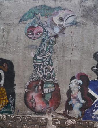 Graffiti - Quito, Ecuador