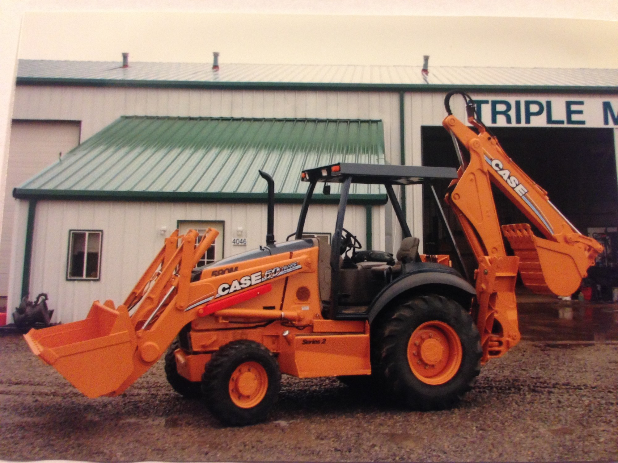 hight resolution of case 580m loader backhoe project done at triple m mechanical in benton mo missouri