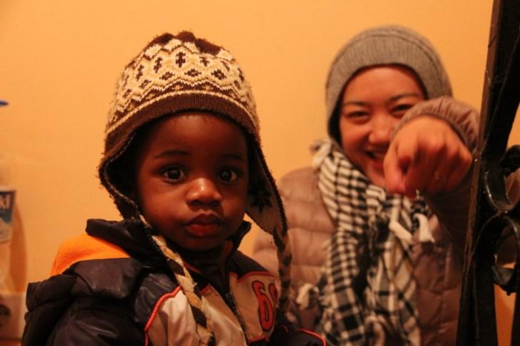 世界一周夫婦 トルコで子供と一緒に