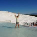 白い世界トルコの世界遺産「パムッカレ」の行き方から楽しみ方まで!の画像