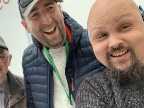 Three guys Smiling