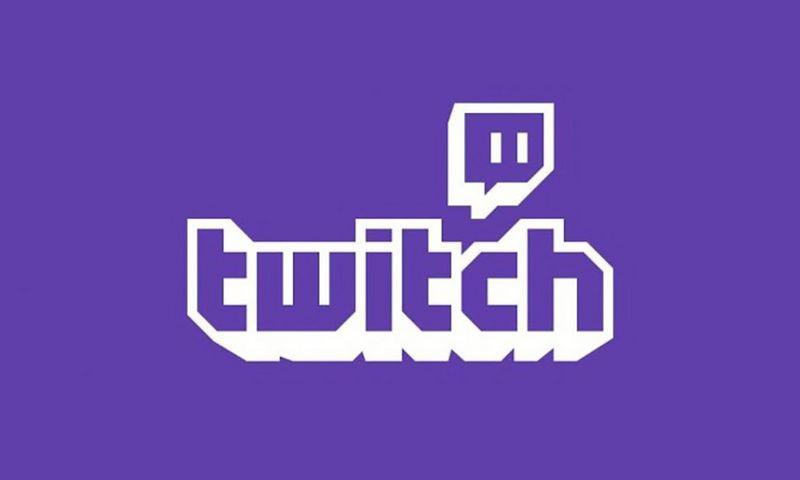 Twitch logo with link