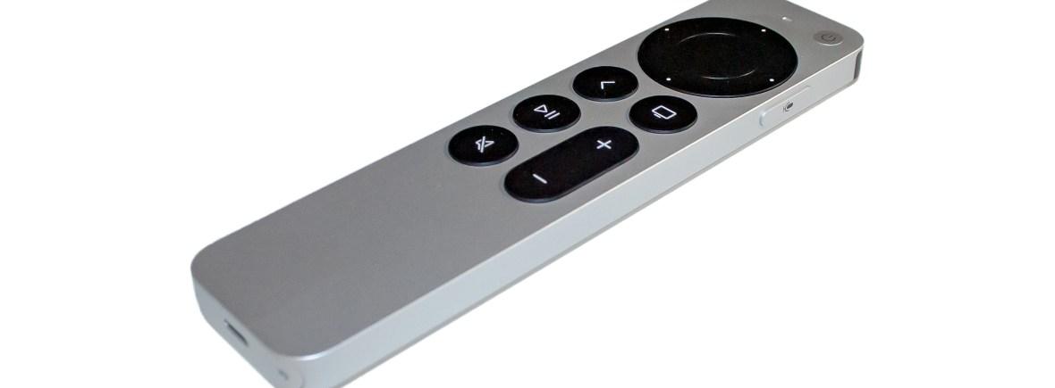 Siri Remote 2021 Version