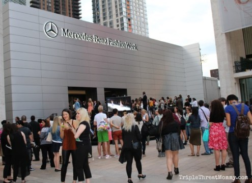 Mercedes Benz New York Fashion Week | TripleThreatMommy.com