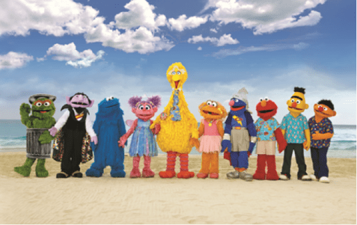 Beaches and Sesame Street Partnership