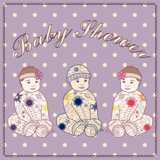 Triplet Baby Shower Themes
