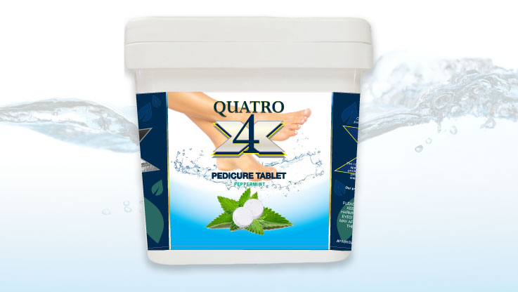 Triple XXX Quatro Pedicure Tablets