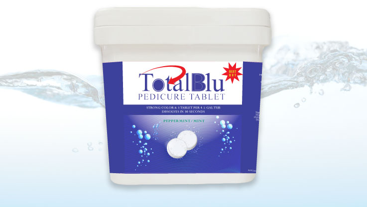 Triple XXX TotalBlu Pedicure Tablets