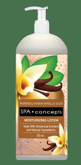 Spa Concepts Whispering Warm Vanilla Sugar Body Lotion