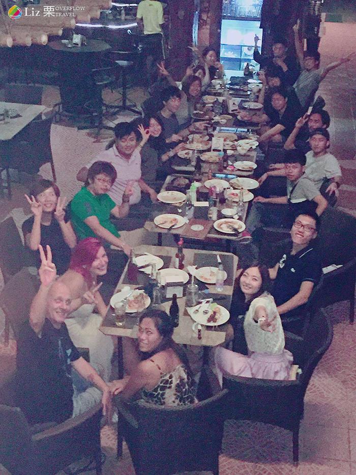 CELI校外生活,聚餐,各國朋友交流-菲律賓遊學生活