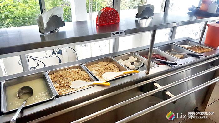 CELI語言學校提供的餐食,食物