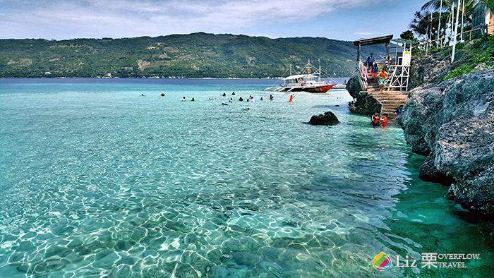 菲律賓推薦小島,美麗,海水清澈,oslob-Sumilon Island