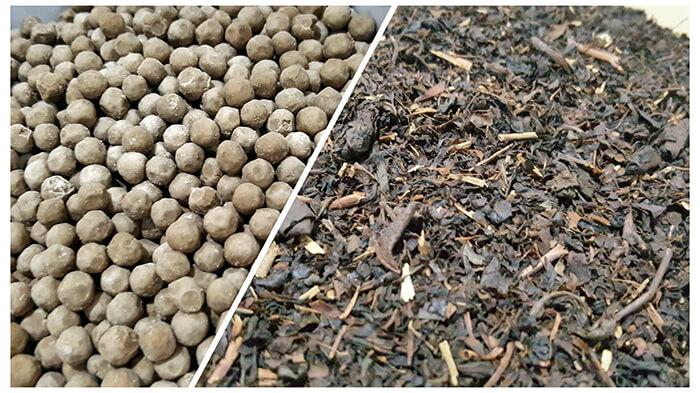 珍珠奶茶, 紅茶茶葉
