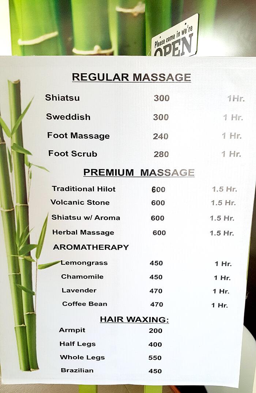 Healing Pint Massage價位