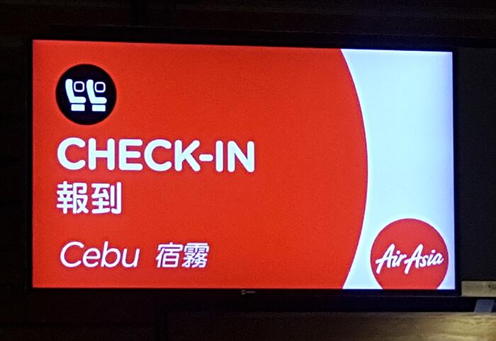 Cebu Check in