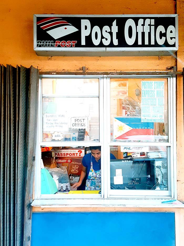 如何在宿霧寄明信片, 宿務郵局在哪裡,Country Mall, Post Office