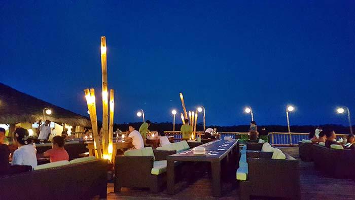 藍濤海景餐廳, 宿霧看夕陽, 夜景好去處