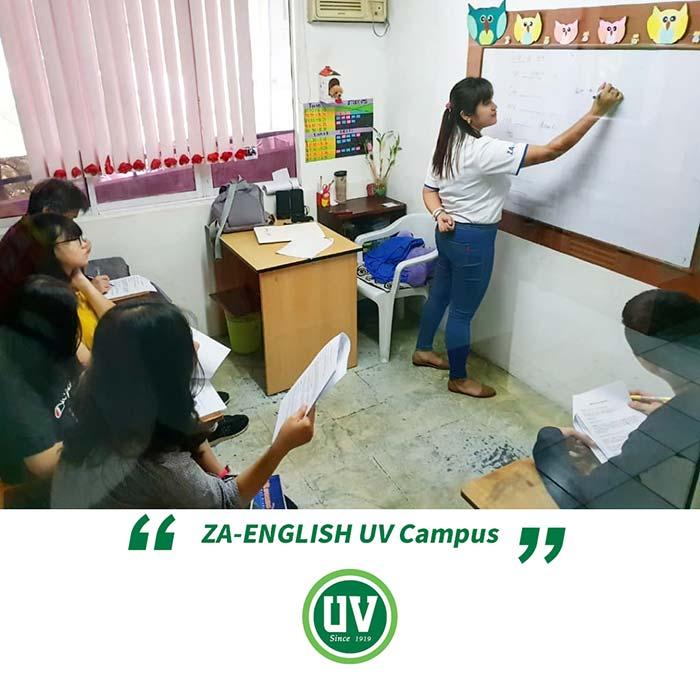 UV語言學校-ZA English UV校區