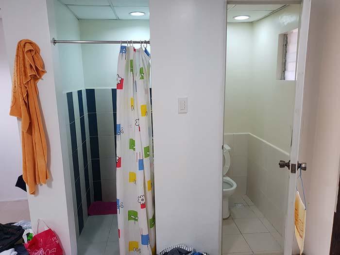 語言學校生活環境, 學校宿舍, 廁所跟衛浴分開