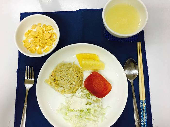 宿霧語言學校伙食, 餐廳, 早餐,午餐,晚餐,三餐