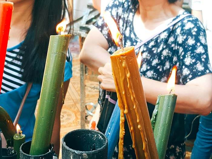 宿霧教堂蠟燭, 代表意義, 含義, 意指