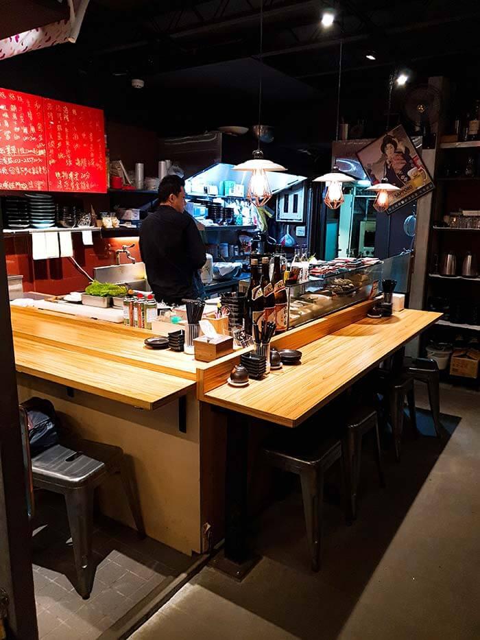 富春食堂, 居酒屋, 台北日本料理店