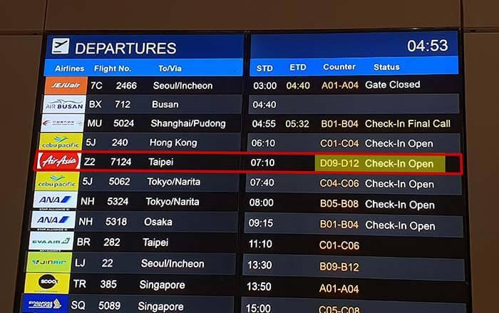 Airasia, Philippines, 長榮航空, 國泰航空, 宿霧航空