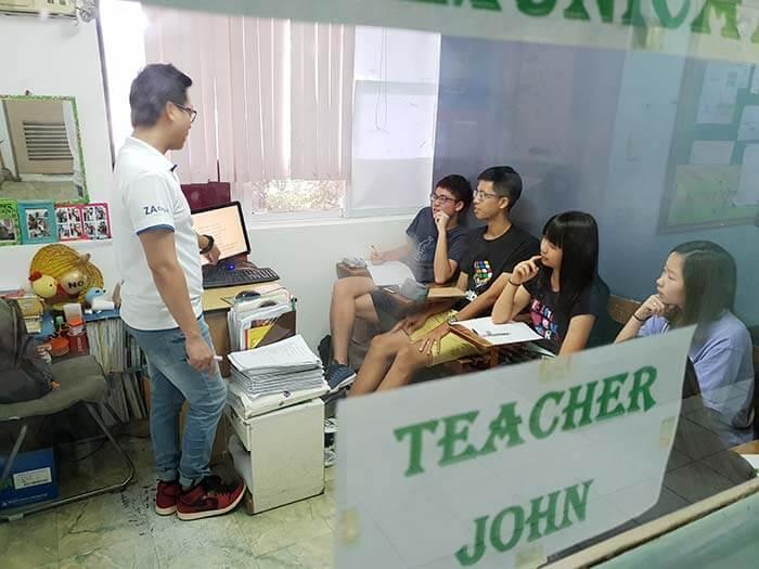 菲律賓上英文課, UV團體課, 英文團體教室