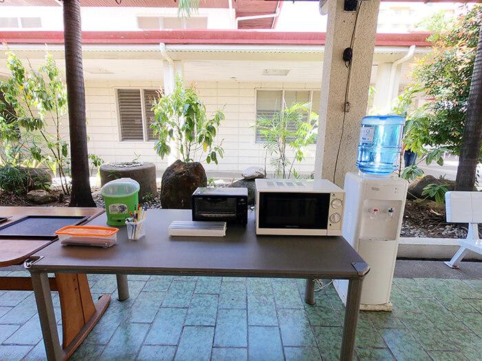 用餐環境, 飲水區, 微波爐, 烤箱