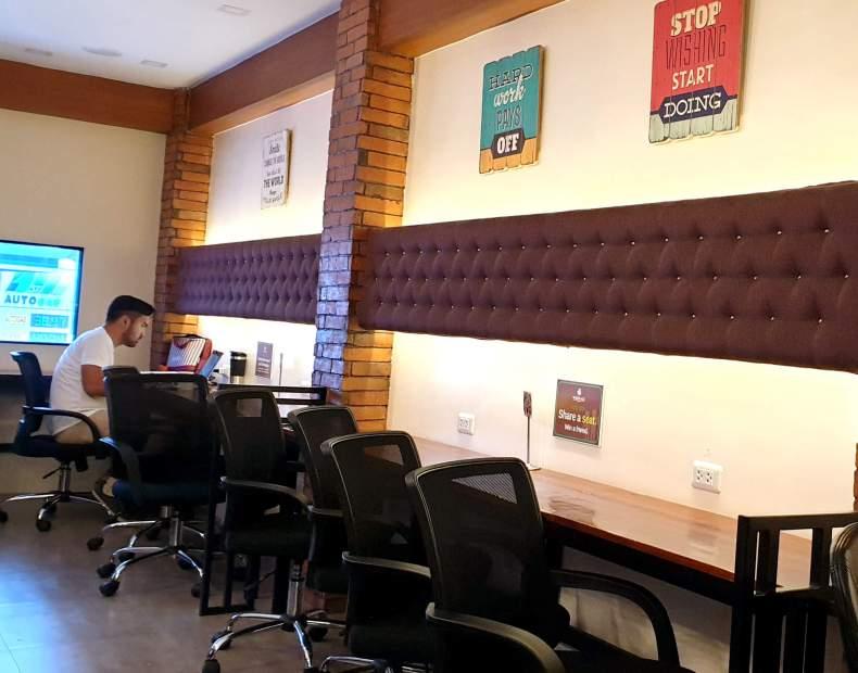 Workplace咖啡店, 室內座位