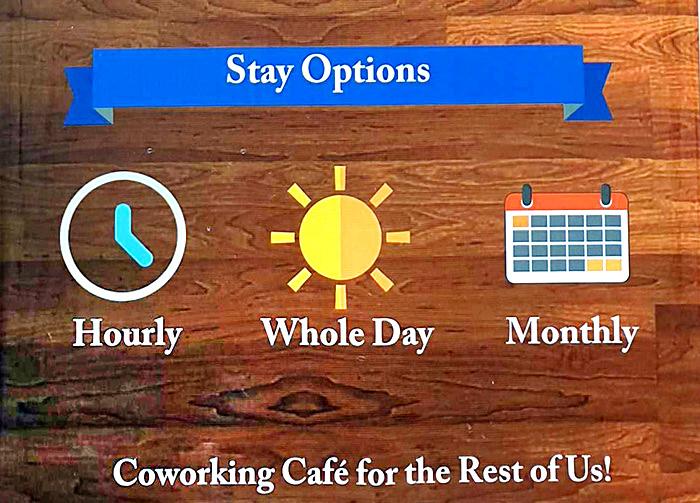 依照小時, 每日, 每月計價制度,Stay Options