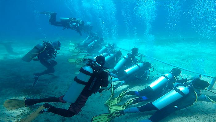 宿霧CNC潛水訓練, OW, AOW 潛水執照訓練