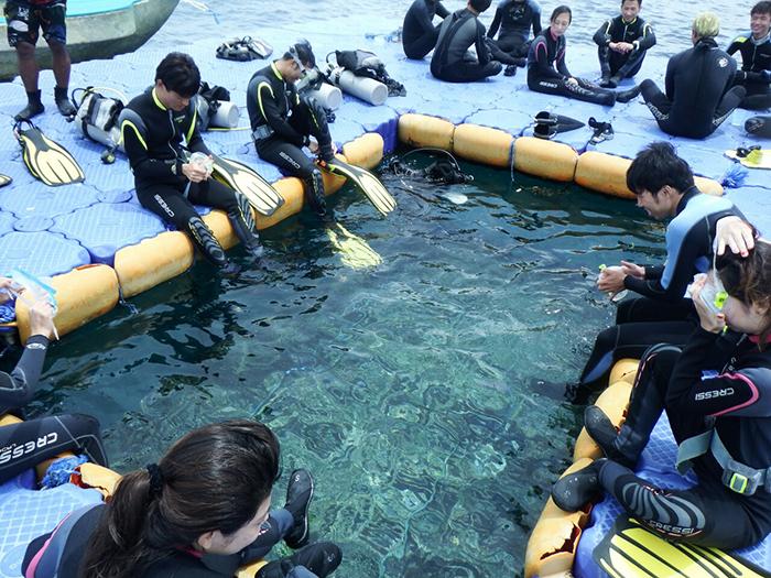 宿霧潛水訓練, 宿霧潛水體驗, 潛水執照考試
