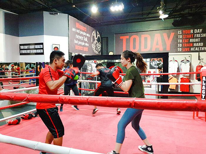 ALA Boxing 運動, 拳擊運動, 宿霧打拳訓練