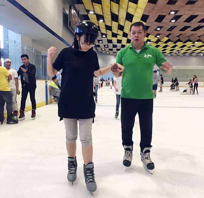 找教練教溜冰, P150, 半小時