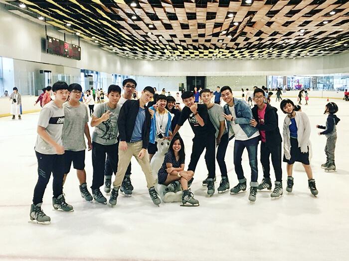 SM Seaside, 溜冰刀, 滑冰, SM購物中心