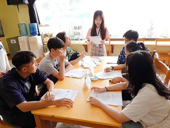 宿霧留學學校, 英文學習, 新生訓練
