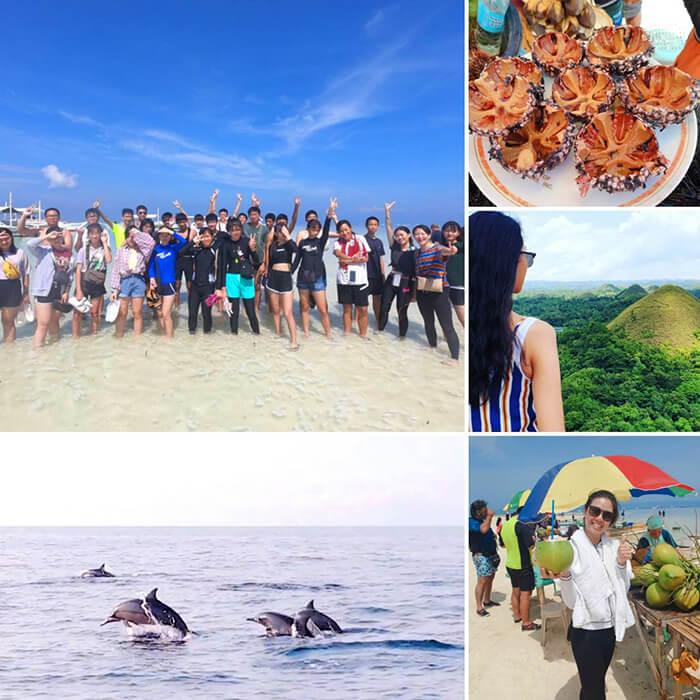 菲律賓薄荷島旅遊, 遊學團假日旅行, Bohol 2days tour