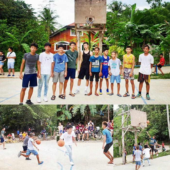 宿霧打籃球, 遊學團活動, 跟菲律賓學生交流, 籃球交流