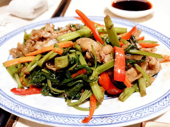 日式料理, 炒青菜